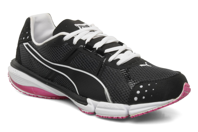 Chaussures de sport Puma Train lite xt mesh wn's Noir vue détail/paire