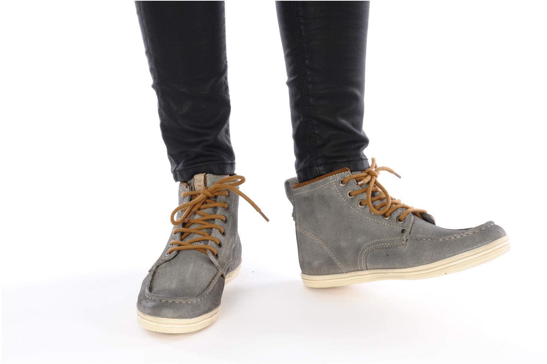 Chaussures à lacets Koah Gabe Gris vue bas / vue portée sac