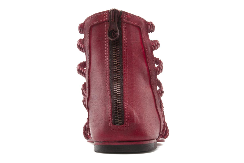 Sandali e scarpe aperte Koah Rihanna Rosso immagine destra