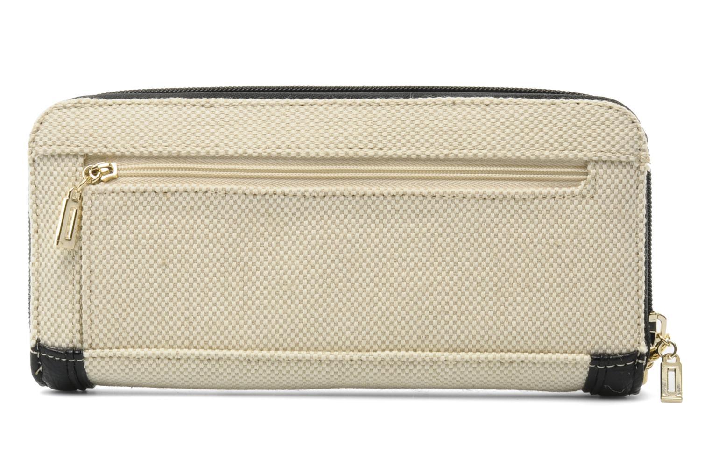 Portemonnaies & Clutches Guess Shanie Large ZipAround schwarz ansicht von vorne