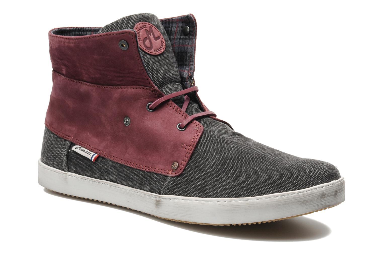 Chaussures à lacets Mascaret Panisse Gris vue 3/4