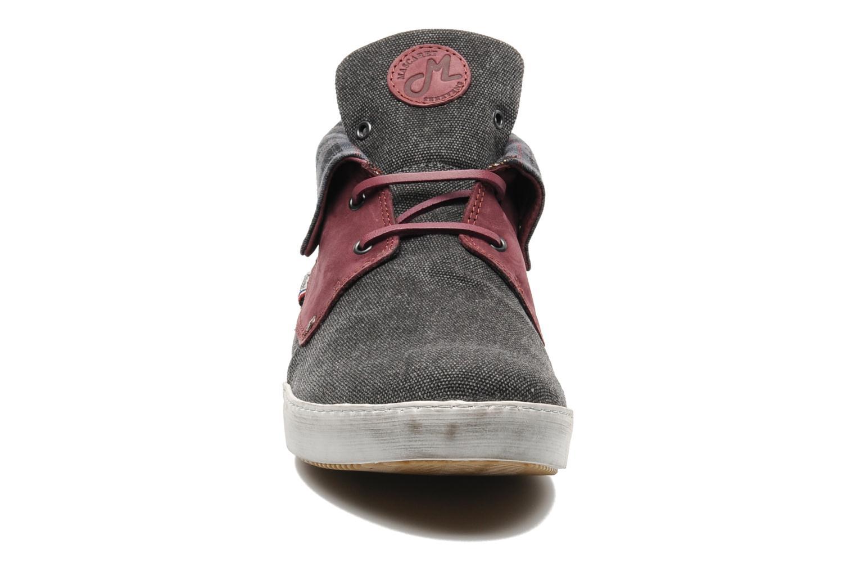 Chaussures à lacets Mascaret Panisse Gris vue portées chaussures