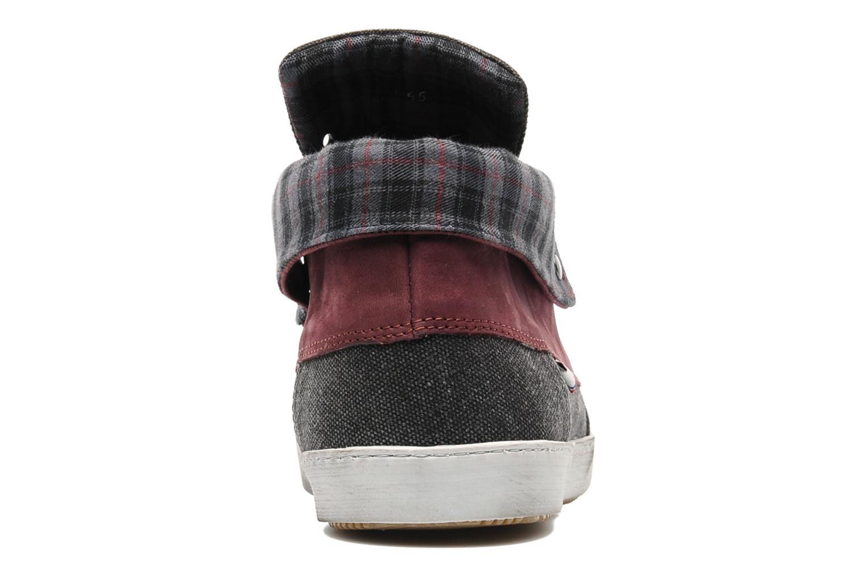 Chaussures à lacets Mascaret Panisse Gris vue droite