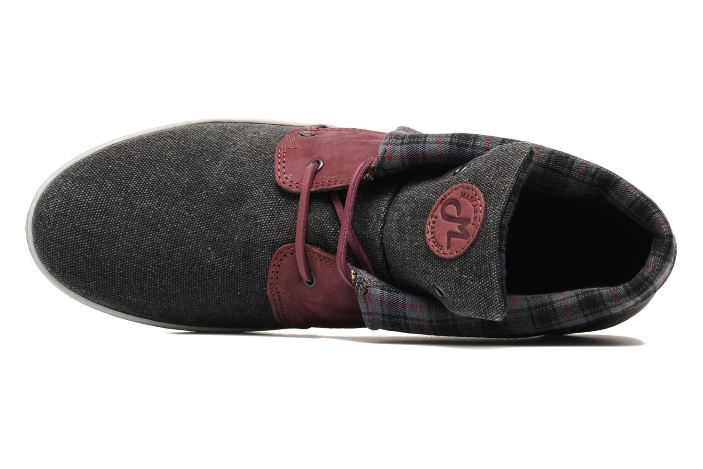 Chaussures à lacets Mascaret Panisse Gris vue gauche