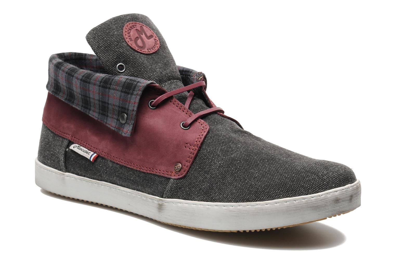 Chaussures à lacets Mascaret Panisse Gris vue détail/paire