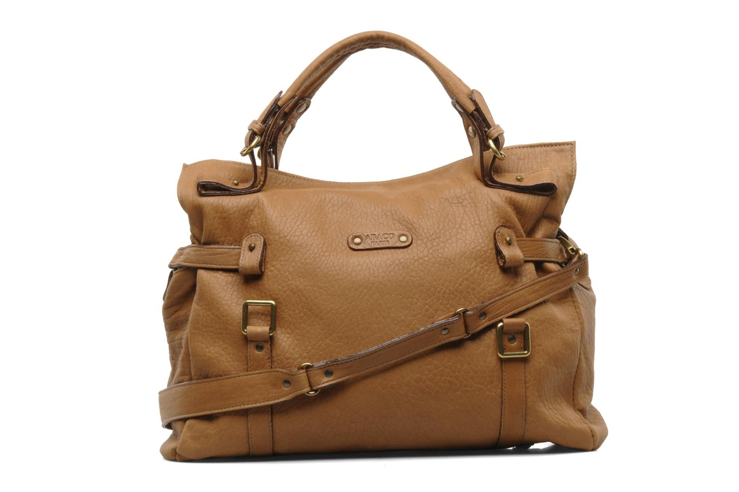 Handbags Abaco Puma Brown front view