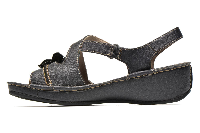 Sandales et nu-pieds TBS Boreal Noir vue face