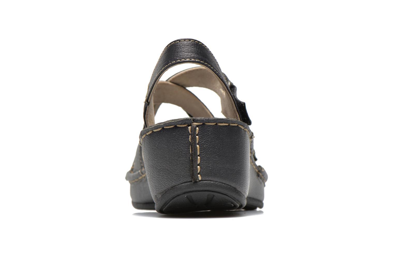 Sandales et nu-pieds TBS Boreal Noir vue droite