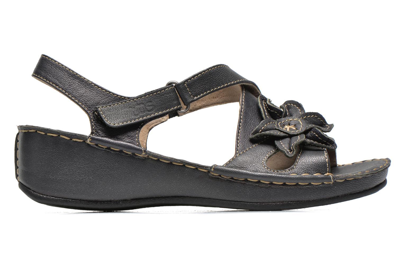 Sandales et nu-pieds TBS Boreal Noir vue derrière