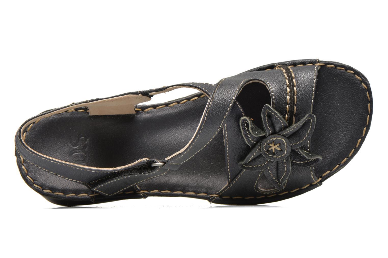 Sandales et nu-pieds TBS Boreal Noir vue gauche