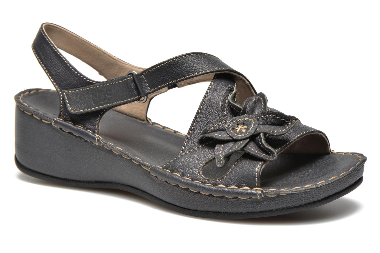 Sandales et nu-pieds TBS Boreal Noir vue détail/paire