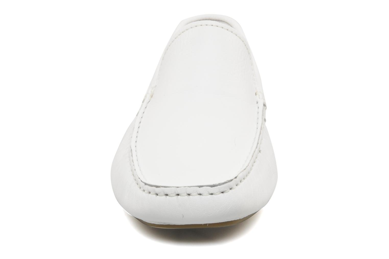 Mocassins TBS Lusian Blanc vue portées chaussures