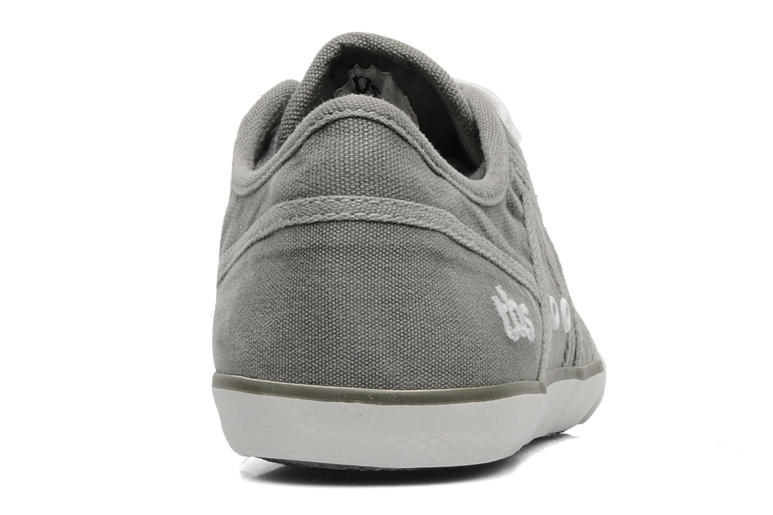 Trainers TBS Violay Grey view from the right