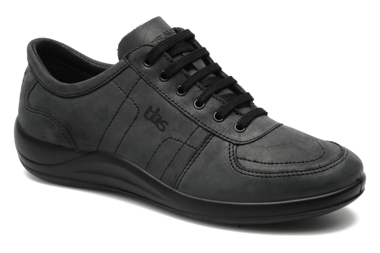 Sneakers TBS Easy Walk Astral Sort detaljeret billede af skoene
