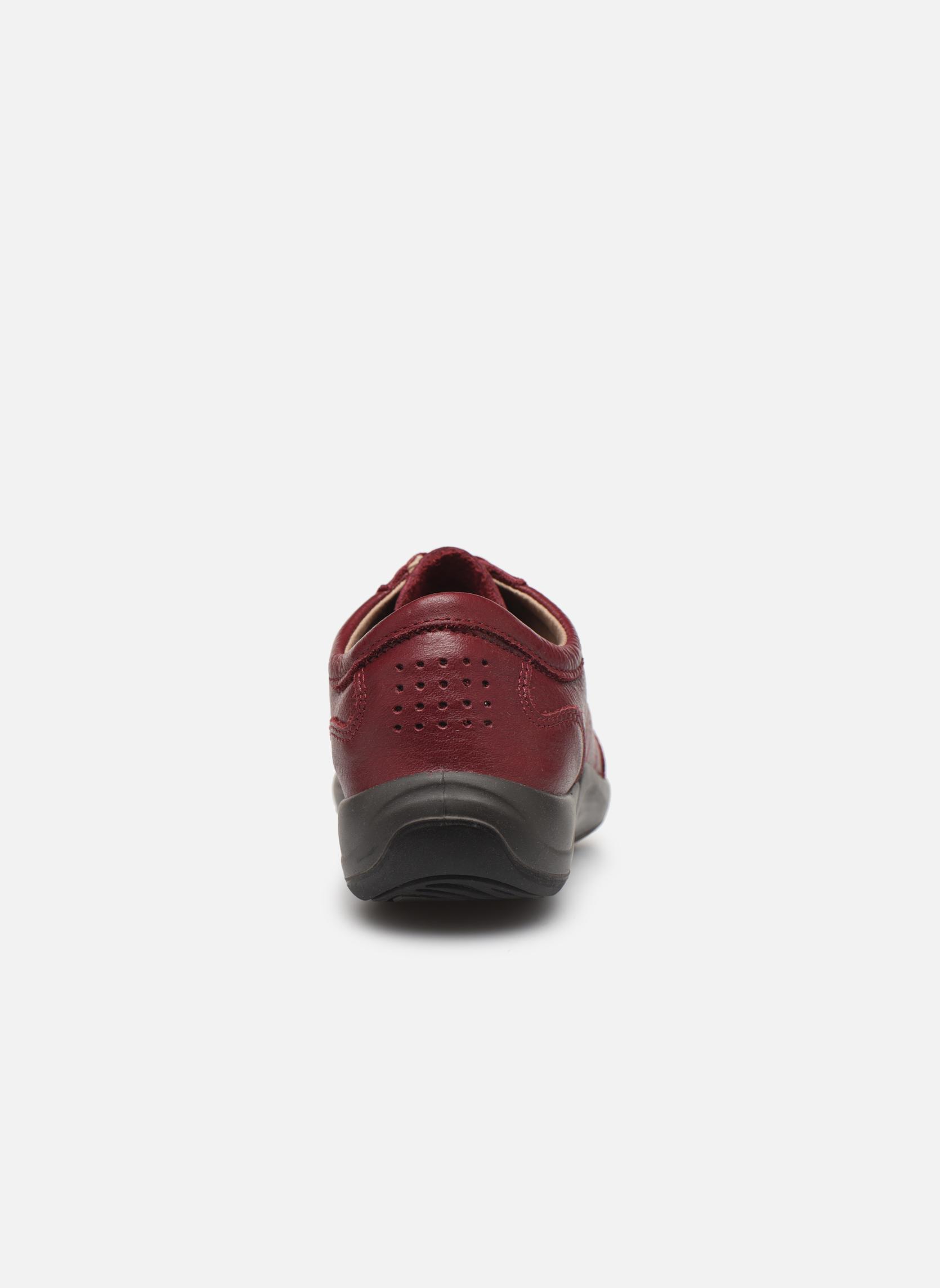 Sneakers TBS Easy Walk Astral Vinröd Bild från höger sidan