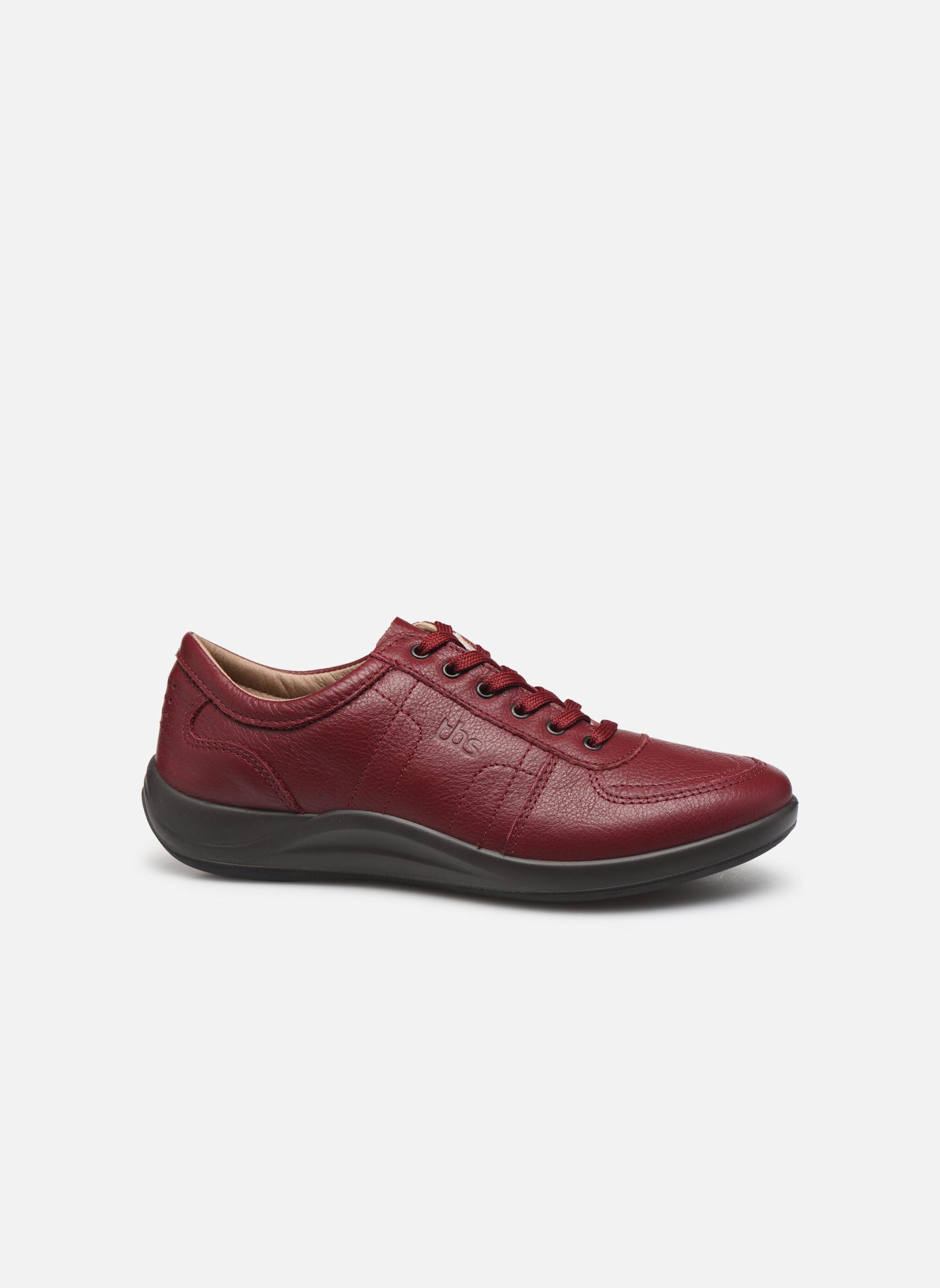 Sneakers TBS Easy Walk Astral Vinröd bild från baksidan