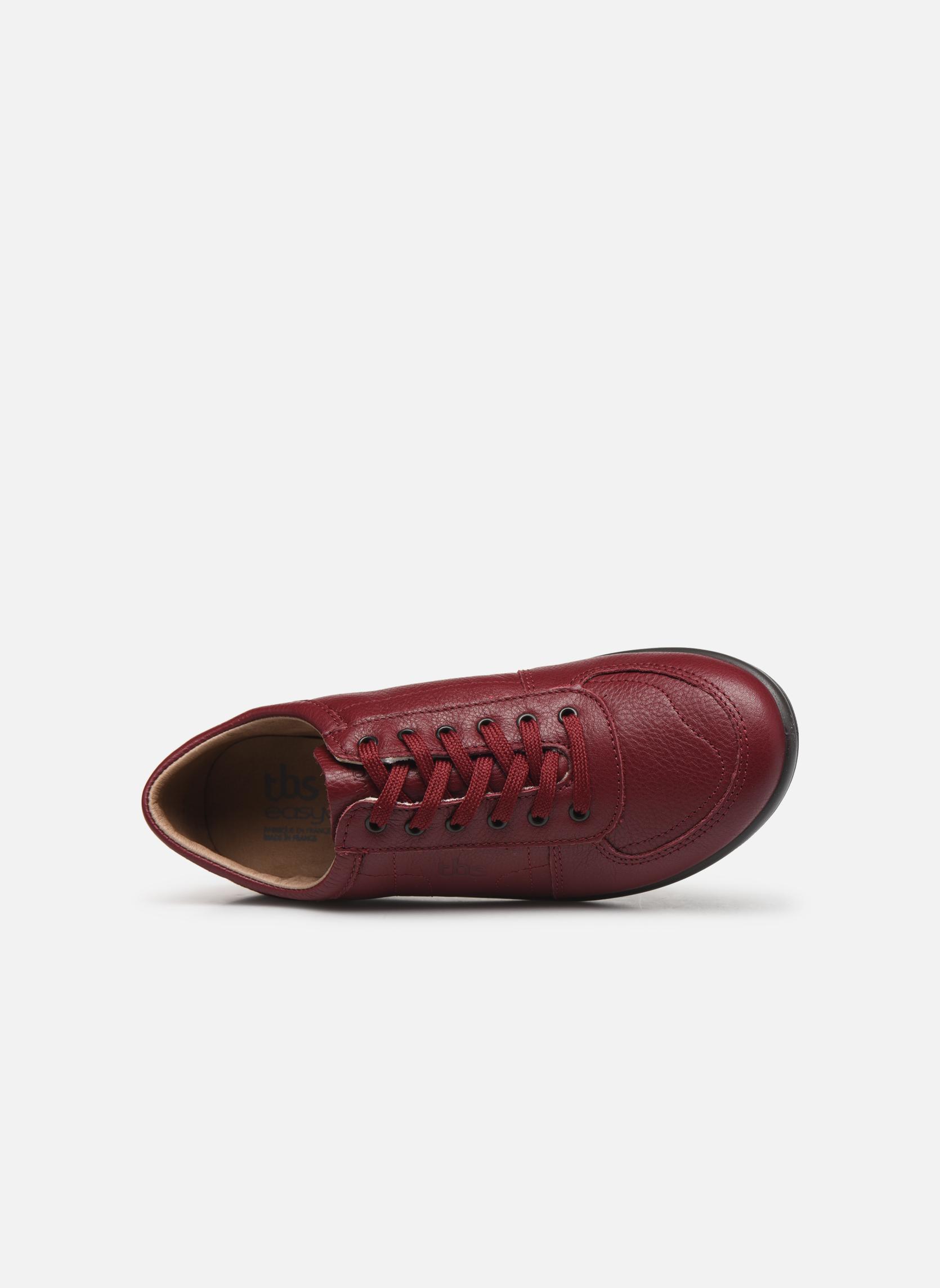 Sneakers TBS Easy Walk Astral Vinröd bild från vänster sidan