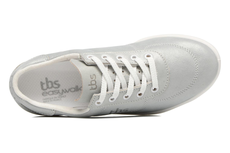 Sneaker TBS Easy Walk Brandy silber ansicht von links