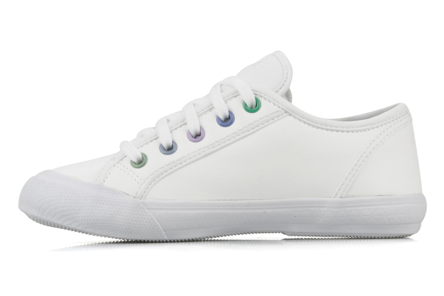 Sneakers Le Coq Sportif Deauville Plus Shaded Ps Syn Bianco immagine frontale