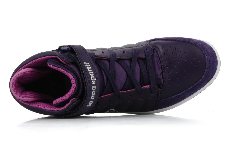Sneakers Le Coq Sportif Diamond Lea/Satin Viola immagine sinistra