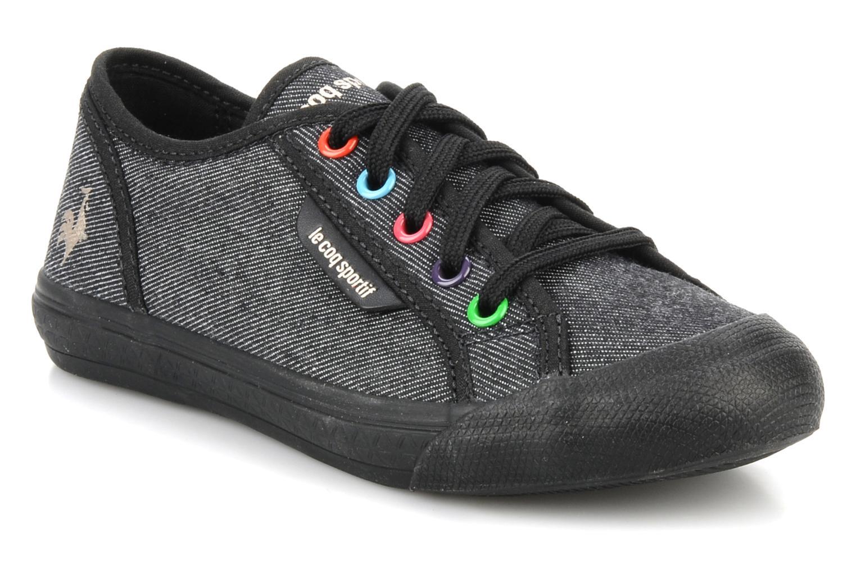 Sneakers Le Coq Sportif Deauville Plus Denim Rainbow Ps Nero vedi dettaglio/paio