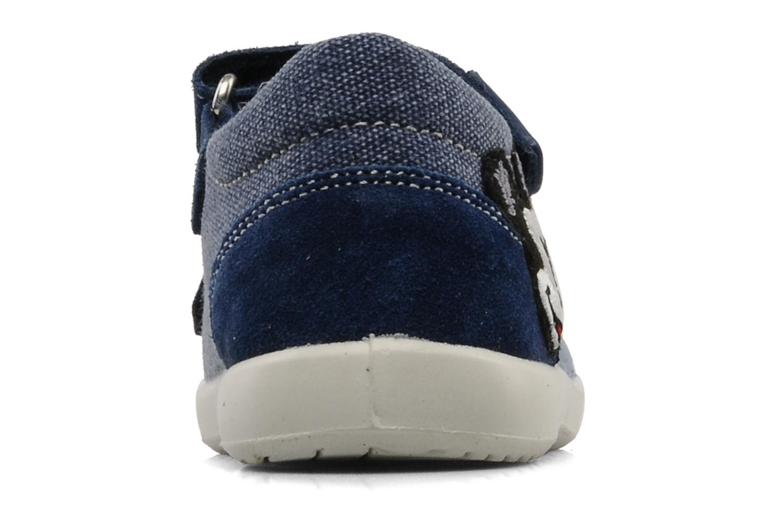 Sandales et nu-pieds Naturino Disney 950 Bleu vue droite