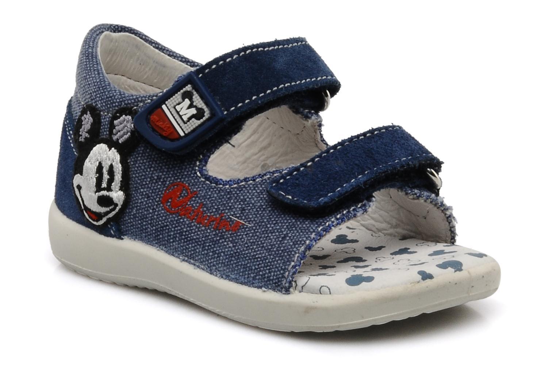 Sandales et nu-pieds Naturino Disney 950 Bleu vue détail/paire