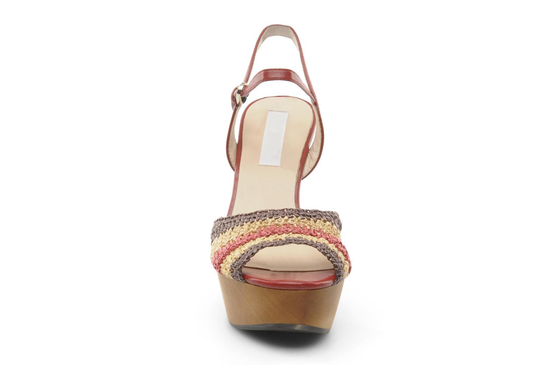 Sandales et nu-pieds L.K. Bennett MAC Multicolore vue portées chaussures