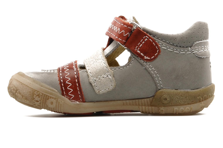 Sneaker Noël Mini Rebel grau ansicht von vorne