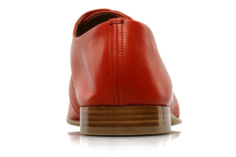 Schnürschuhe Fratelli Rossetti Martina rot ansicht von rechts