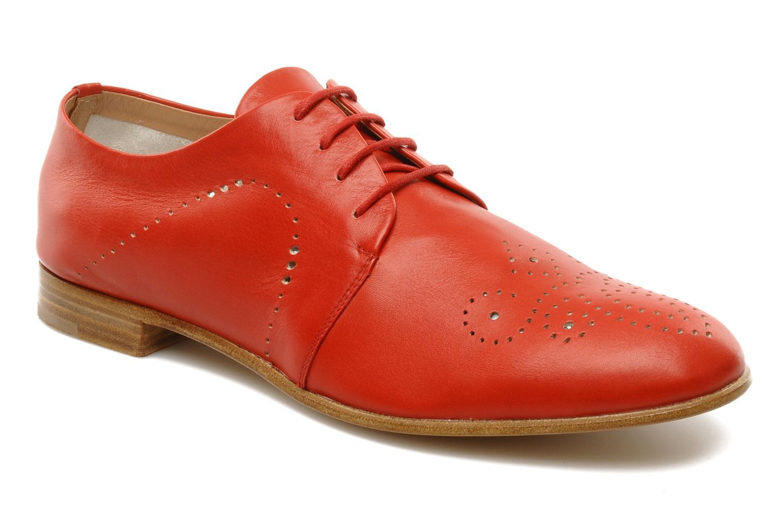 Schnürschuhe Fratelli Rossetti Martina rot detaillierte ansicht/modell