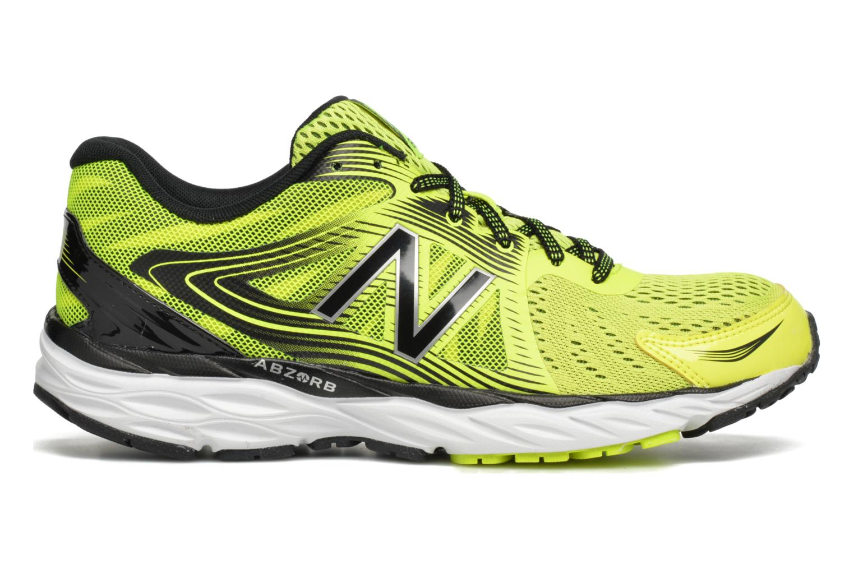 Chaussures de sport New Balance M680 Jaune vue derrière