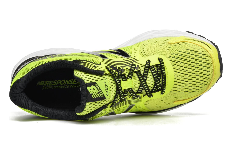 Chaussures de sport New Balance M680 Jaune vue gauche