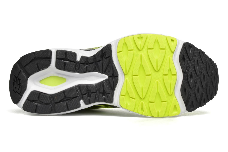 Chaussures de sport New Balance M680 Jaune vue haut