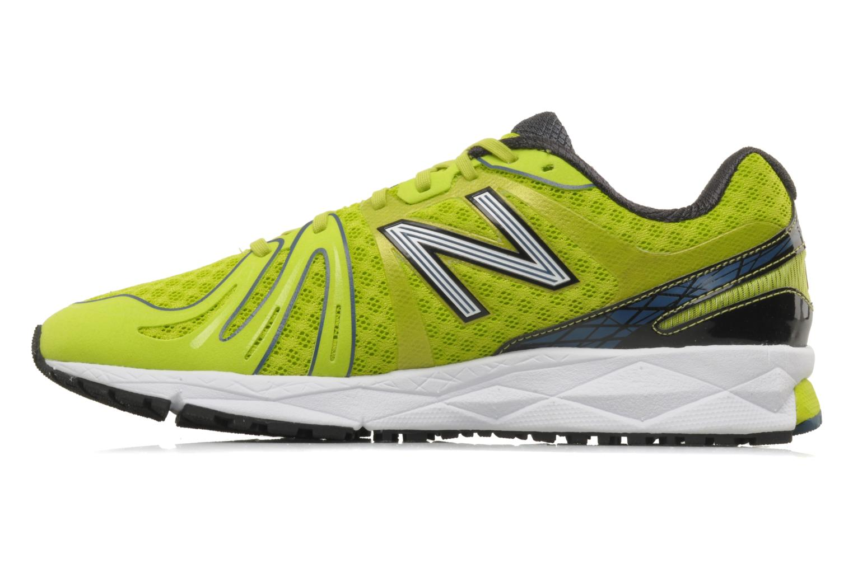 Chaussures de sport New Balance M890 Jaune vue face