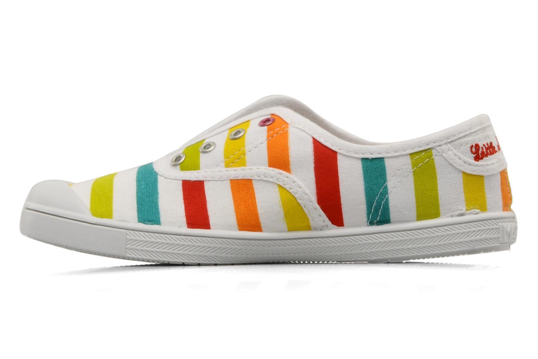 Sneaker Little Marcel Benistic Print mehrfarbig ansicht von vorne