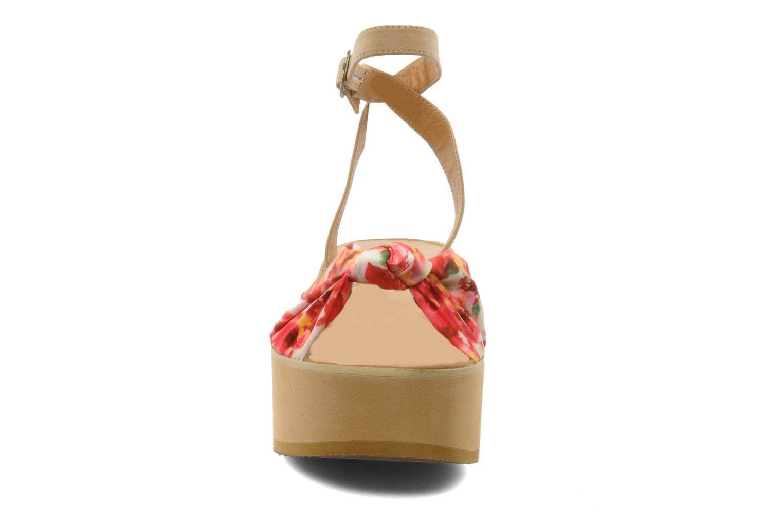 Sandales et nu-pieds Chocolate Schubar Bambi Rose vue portées chaussures