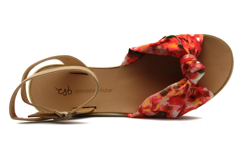 Sandales et nu-pieds Chocolate Schubar Bambi Rose vue gauche
