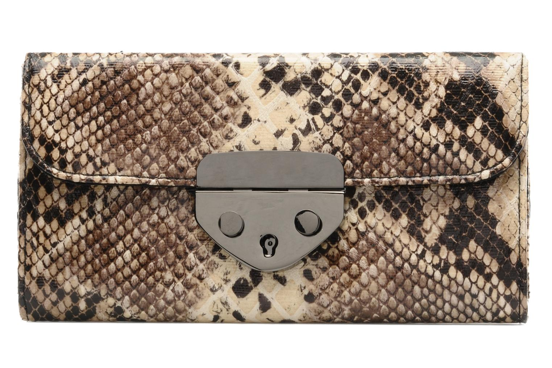 Pelletteria Friis & company Hot Snake Wallet Marrone vedi dettaglio/paio