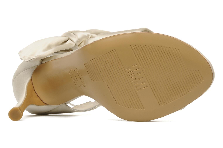 Sandales et nu-pieds Stuart Weitzman Bigbow Beige vue haut