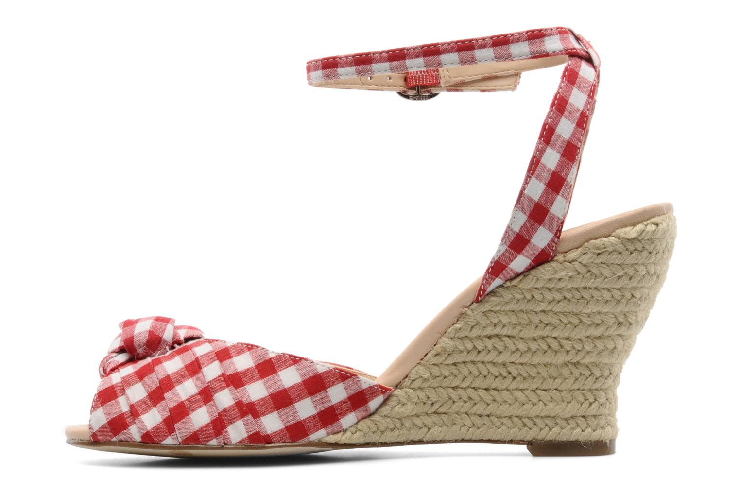 Sandals Guess Abbiel Red front view
