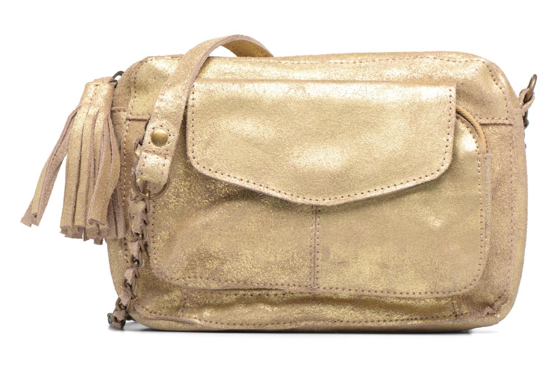 Sacs à main Pieces Naina Leather Crossover Or et bronze vue détail/paire