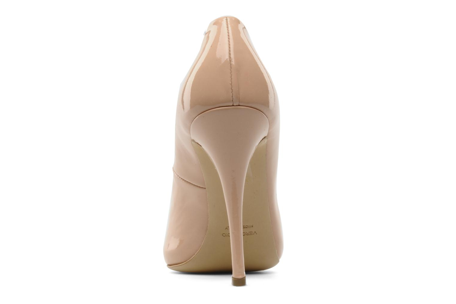 High heels Paul & Betty PrettyLips Beige view from the right