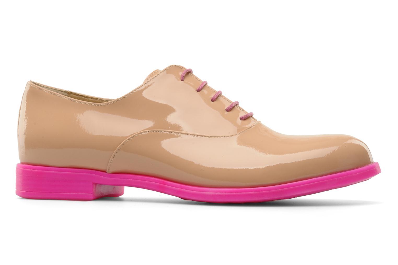 Chaussures à lacets Paul & Betty Rozy Beige vue derrière