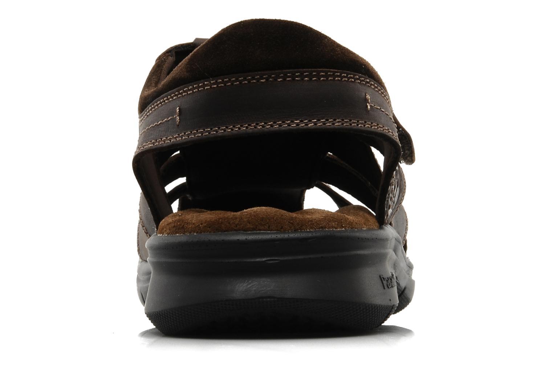 Sandales et nu-pieds Panama Jack Sherpa Marron vue droite