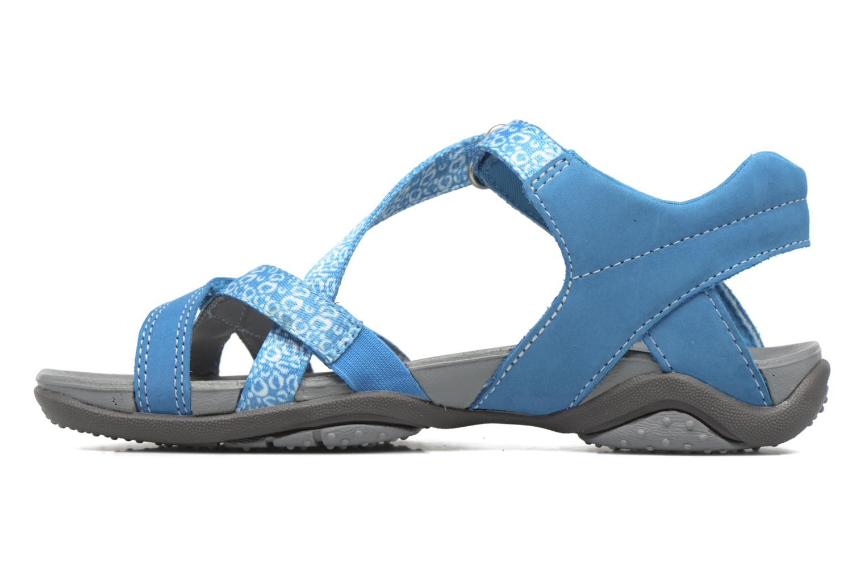 Sandales et nu-pieds Superfit Nancy Bleu vue face