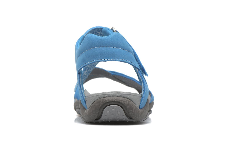 Sandalen Superfit Nancy blau ansicht von rechts
