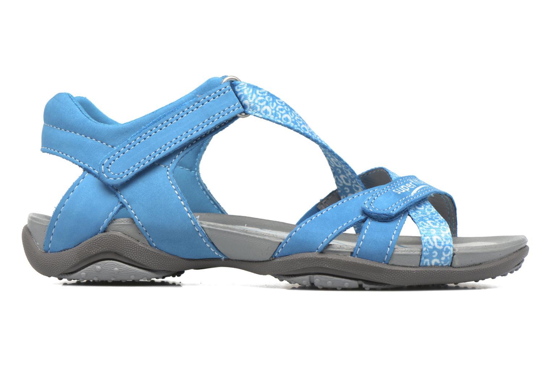 Sandalen Superfit Nancy blau ansicht von hinten