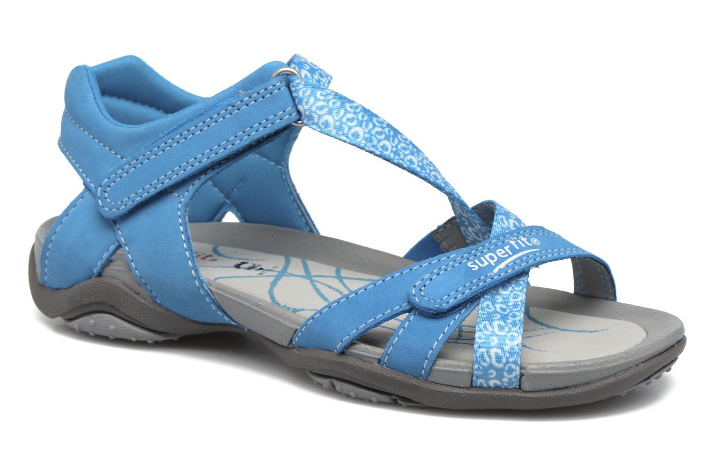 Sandales et nu-pieds Superfit Nancy Bleu vue détail/paire