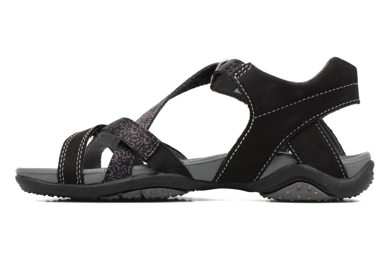 Sandals Superfit Nancy Black front view